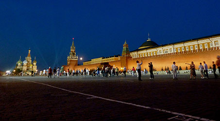 moscou kremlin place rouge